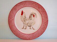 "The Haldon Group - Devonshire 1981 Set of 4 White Chicken 7.5"" Salad Plates"