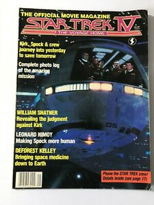 Star Trek IV Official Movie Magazine The Voyage Home