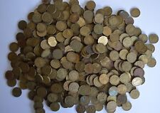 More details for three pence 3p brass bulk job lot 1000 coins mix dates