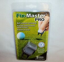 Fix-Master PRO Divot Repair Tool ~ Ball Marker Included ~ Starting Time Golf