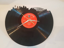 Sydney Skyline Record Vinyl Clock 12'' Vinyl Record Clock Wall Home Decor UK