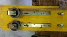 Schiebetor Beschlag Rolle mit Halter Stahl verzinkt 75mm Nr.501 EAN 40014256000