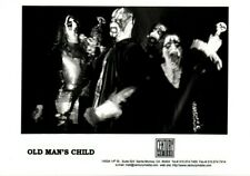 OLD MAN'S CHILD BAND PROMO PHOTO Born of the Flickering Pagan Prosperity Galder