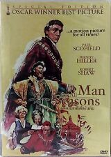 A MAN FOR ALL SEASONS ; NEW DVD ; Special Edition Oscaar Winner Best Picture