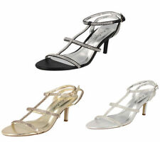Anne Michelle Stiletto Synthetic Sandals for Women