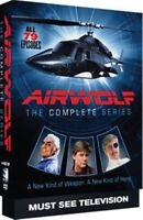 Airwolf The Complete Series 1 + 2 + 3 + 4 Season One Two Three Four New DVD