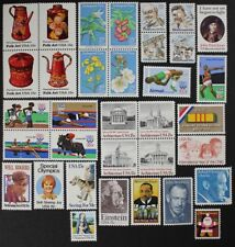 US 1979 Commemorative Year Set collection of 34 stamps incl. Airmails Mint NH
