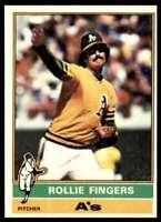1976 Topps Set Break Mint Rollie Fingers #405