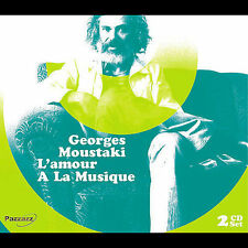 Moustaki, Georges-Moustaki, Georges - L`Amour Ala Musique CD NEW