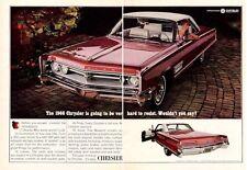 1966 Chrysler 300 2-door PRINT AD