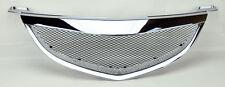 Mazda 3 04-06 4dr Sedan Metal Mesh Chrome Front Hood Bumper Grill