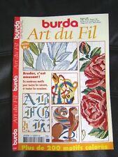 Magazine Burda art du fil spécial broder c'est amusant  N°5 /R12