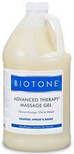 Biotone Advanced Therapy Massage Gel 64 oz. - Half Gallon