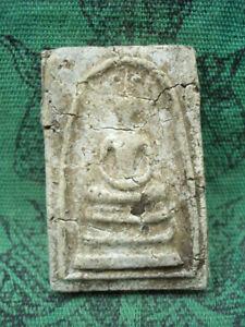 Phra Somdej Toh Wat Rakang Temple Talisman Buddhist Siam Old Thai Buddha Amulet