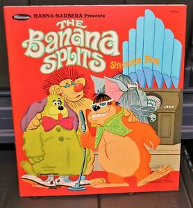 1969 The Banana Splits vintage Hanna-Barbera Sticker Fun Book Whitman UNUSED NEW