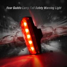 Luce Ricaricabile USB Posteriore 5 LED Impermeabile Lamp per Bici Bicicletta