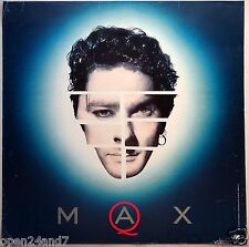 Max Q U.S. Promo Poster From 1989 - Inxs, Michael Hutchence, Electronic Music