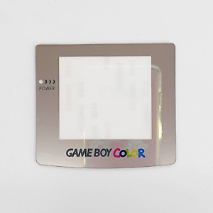 Silver Mirror Plastic Screen Lens  Nintendo GameBoy Game Boy Colour GBC Console