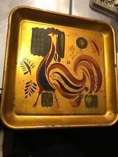 Georges Briard Original Signed Hand-Painted Metal Serving Tray - Vintage