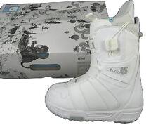 NEW $150 Burton Mint Snowboard Boots!  US 5, UK 3, Euro 35, Mondo 22  *WHITE*