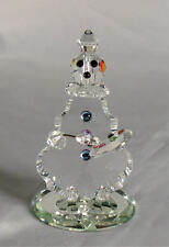 Crystal Clown - Whimsical Painting Clown Figurine Made With Swarovski Crystal
