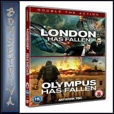 LONDON HAS FALLEN AND OLYMPUS HAS FALLEN - 2 MOVIE COLLECTION *BRAND NEW DVD**