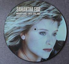 Samantha Fox, naughty girls, Maxi vinyl picture disc