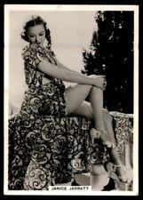 Photocards Group I (1938) Janice Jarratt (Actress)