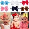 bébé filles enfants Bandeau de cheveux Grand Noeud Doux nœud Bande élastique