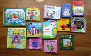 Lot de 13 livres pour enfant de 1 à 5 ans dont 1 sonore - de Bon à très bon état