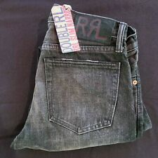 RRL Slim Narrow Selvedge Jean Black Soot Wash Men's Size 30
