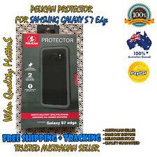 Genuine Samsung Galaxy S7 Edge Pelican Protector Commuter Slim Tough Case Black