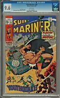 Sub-Mariner #28 CGC 9.6 WHITE PAGES Sal Buscema