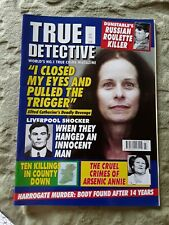 True Detective magazine July 2015 VGC!!
