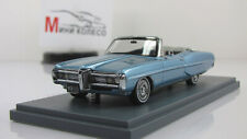 Scale model car 1:43 PONTIAC Bonneville convertible 1968, m. blue
