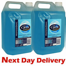 2 x 5 Litres Carex Professional Original Anti Bacterial Liquid Hand Soap Wash