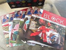 2015 Magazine Box Set ~ MSQC BLOCK COLLECTOR'S SET ~ by Missouri Star Quilt Co
