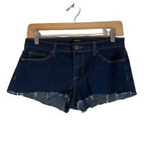 Forever 21 Cutoff Jean Shorts Dark Wash Size 26