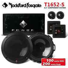 "NEW ROCKFORD FOSGATE T1652-S 6.5"" 17CM 2-Way Car Component System Speakers"