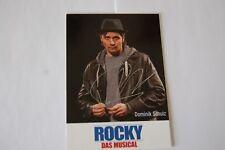 Rocky - Hamburg - Musical Autogrammkarte - Dominik Schulz