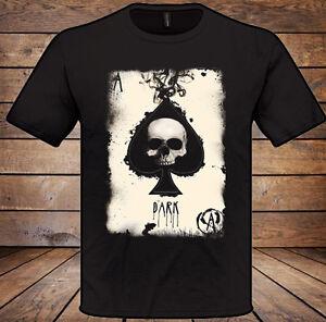 Pik As T-Shirt Herren Damen Weihnachten Geschenk