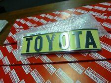 Genuine Toyota Landcruiser FJ40 Rear TOYOTA Badge BRAND NEW NOS HJ47 BJ42 FJ45