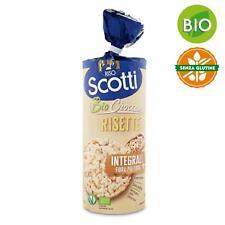 Gallette di Riso Integrali Biologiche Scotti Risette 150 gr Senza Glutine