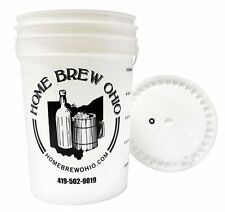Midwest Brewing and Winemaking Supplies 6.5 Gallon plastic fermenter with lid