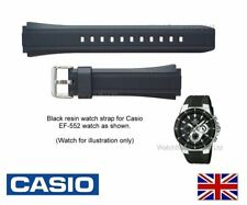GENUINE CASIO Watch Strap Band for EF-552 EF-552PB EF552 Watch - PINS INCLUDED