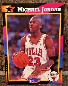 1992 Michael Jordan STARTING LINEUP Card White Jersey PSA Worthy Chicago Bulls