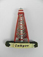 Magnet Leuchtturm Campen Deutschland 3 D,Souvenir,6 cm Poly,NEU