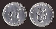 VATICANO 2 LIRE 1977 - PAOLO VI - FDC/UNC FIOR DI CONIO
