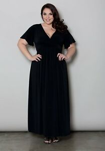 Sexy SWAK Designs Classic Maxi Party Dress, Glam Plus, Black, Eggplant or Red