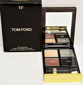 New In Box Tom Ford Eye Color Quad # 22 SUPERNOUVEAU Full Size 0.31 Oz. / 9 g